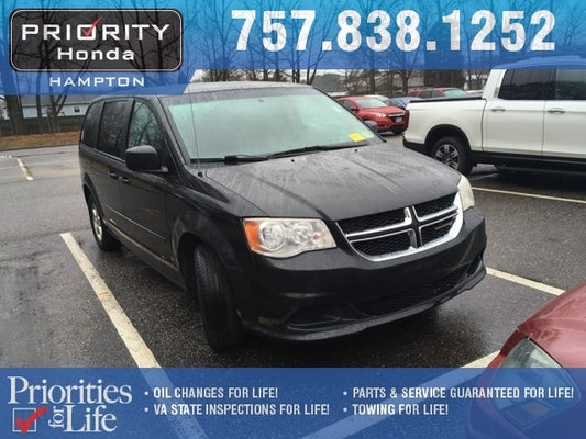 fcf78c7c22 2012 Dodge Grand Caravan SE AVP in Chesapeake